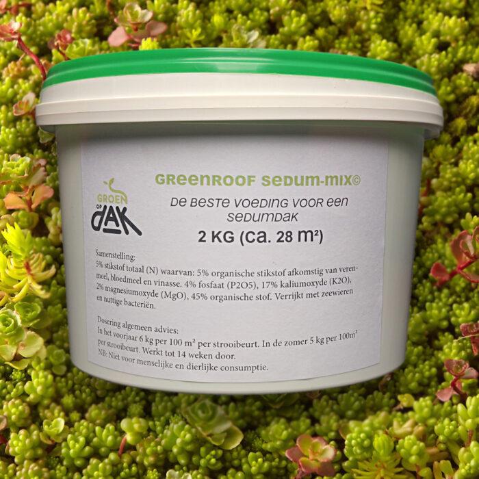 Sedum meststoffen 2kg - Groenopdakeu
