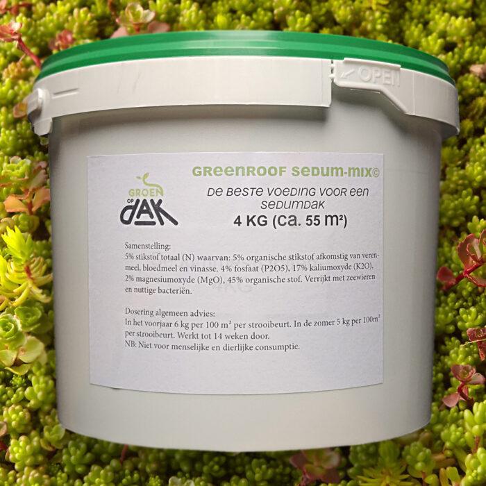 Sedum meststoffen 4kg - Groenopdakeu